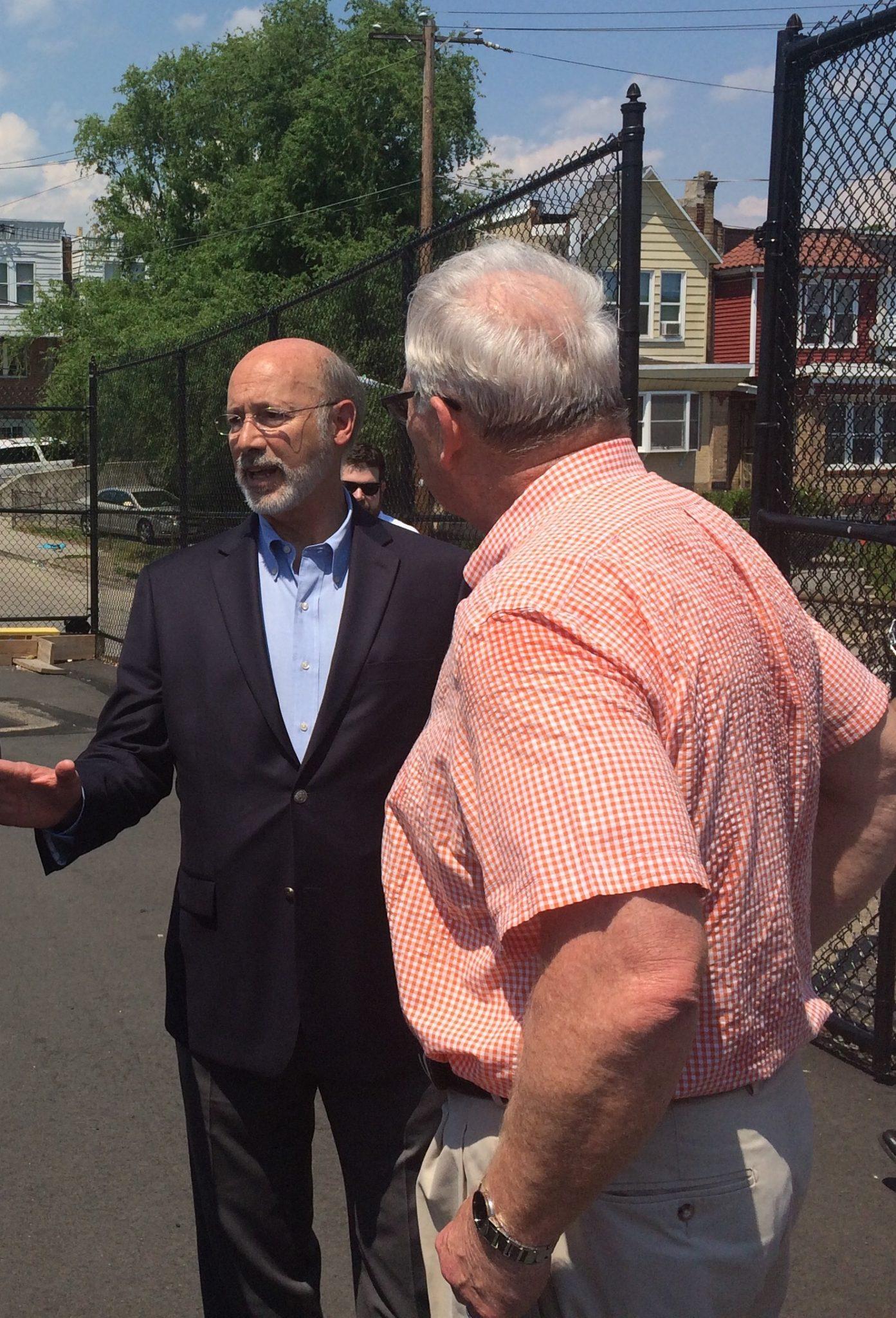Photo Update – Governor Tom Wolf Visit