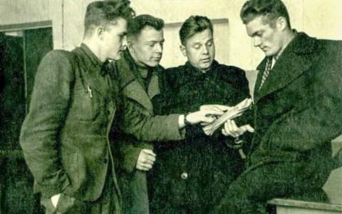 Студенты первых послевоенных лет
