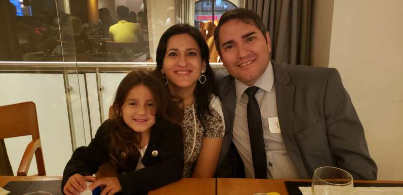 This family was part of the 53 guests who attended the ELI 40 alumni event in Sao Paulo.