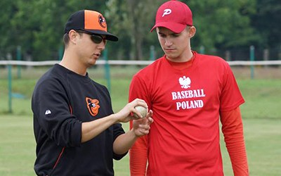Get to know: Justin Prinstein '12, looking to change lives with baseball
