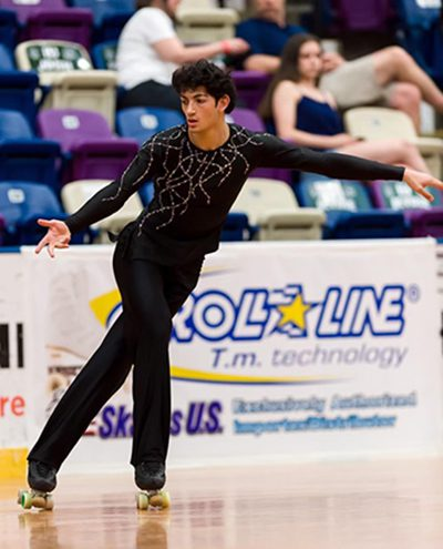 Gene Kalmat skating