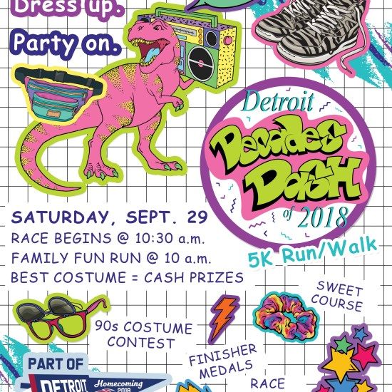 Do you remember the '90s? Detroit Decades Dash registration is open