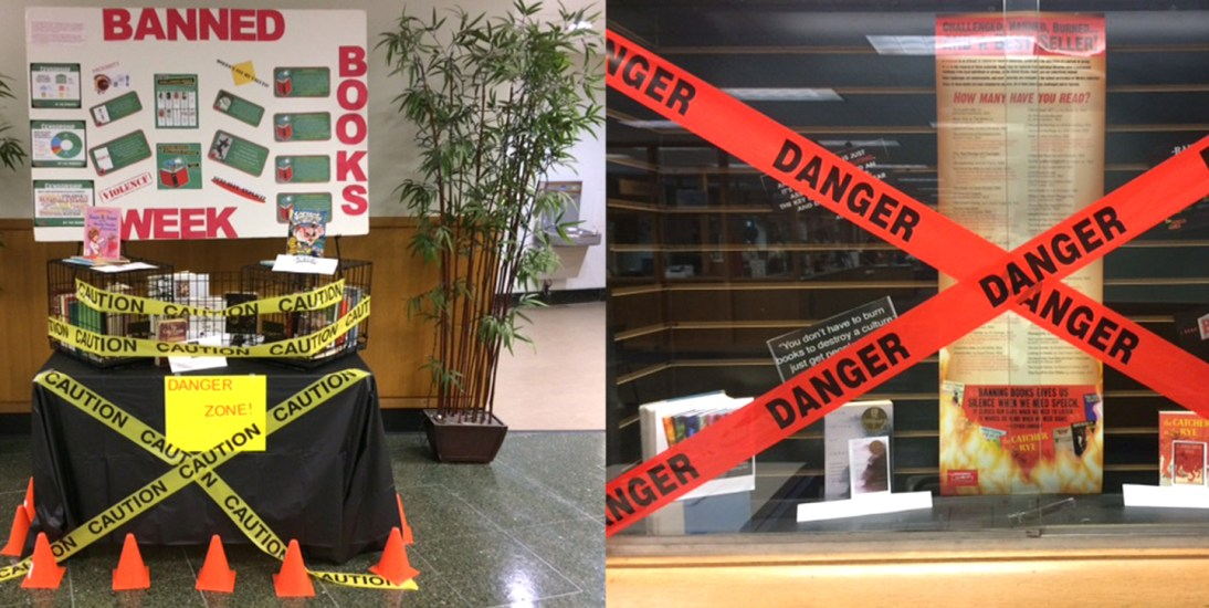 McNichols Campus Library has all your favorite banned books