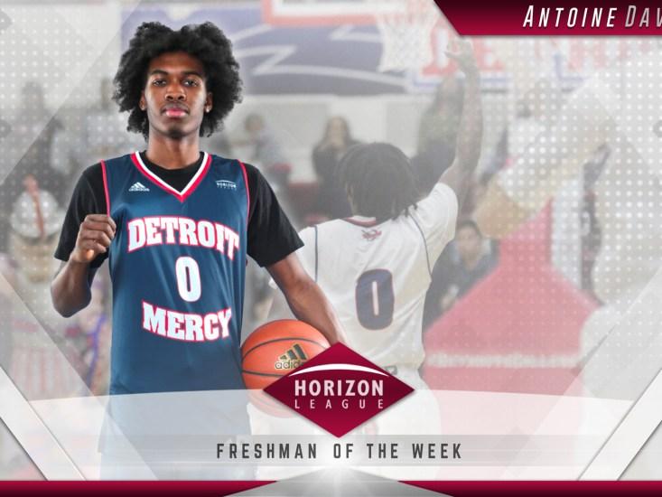 Horizon League highlights Titans basketball freshmen Antoine Davis