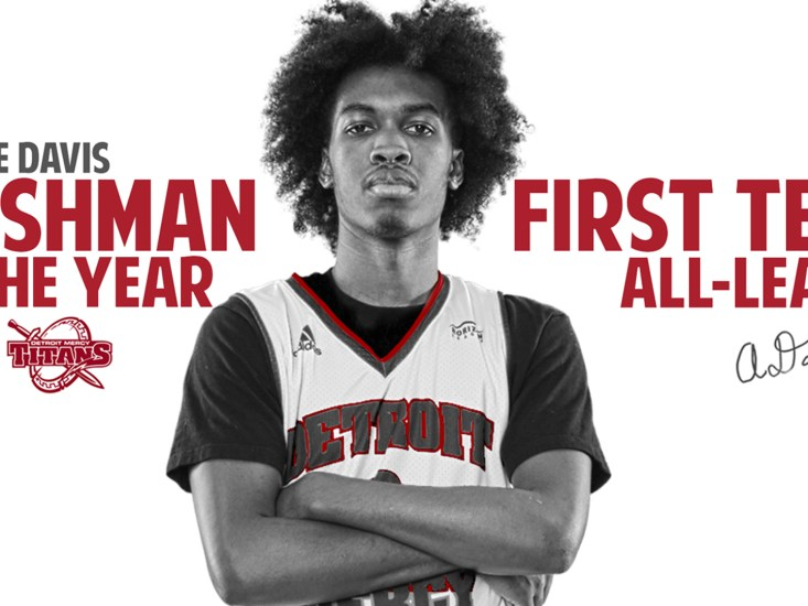 Antoine Davis named Horizon League Freshman of the Year