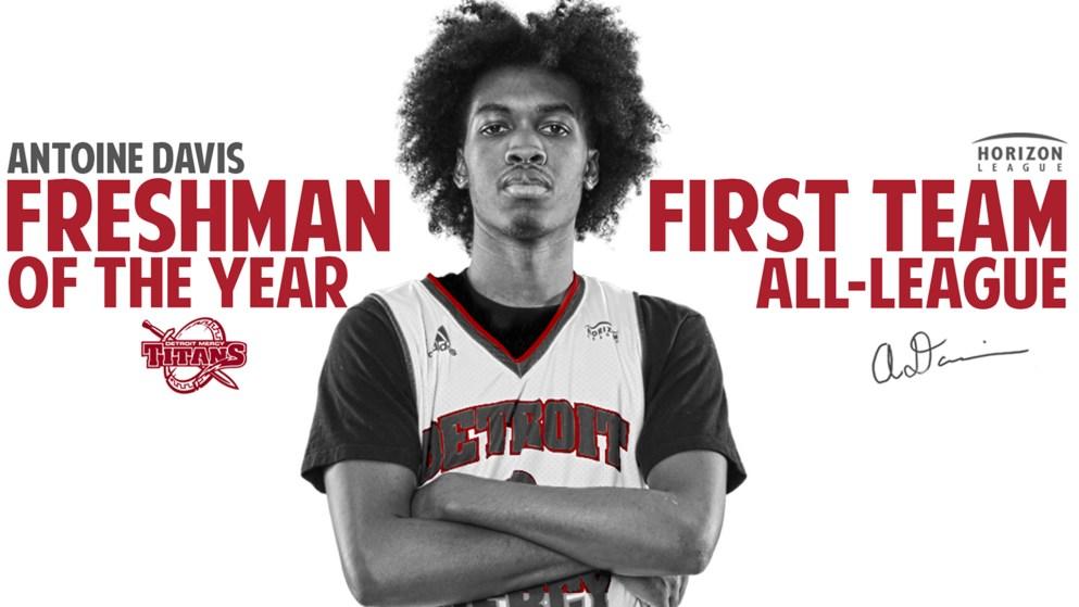 Antoine David: Freshman of the Year 2019