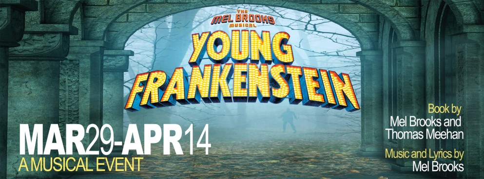 """Detroit Mercy Theatre Company's production of """"Young Frankenstein"""