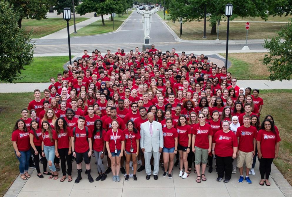 2019 Freshman Group Photo