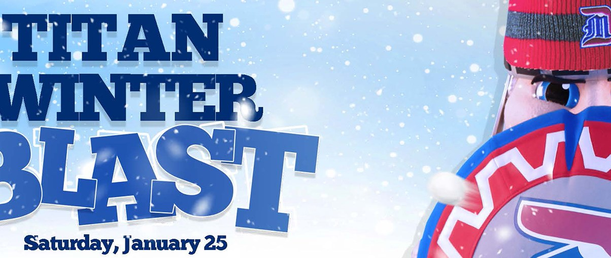 Turn up the heat with the Titan Winter Blast
