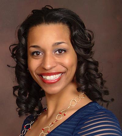 Amber Johnson, director of the TRiO Program