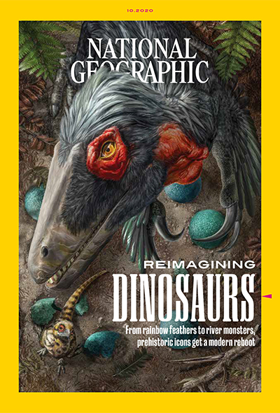 Cover of Oct. 2020 National Geographic magazine.