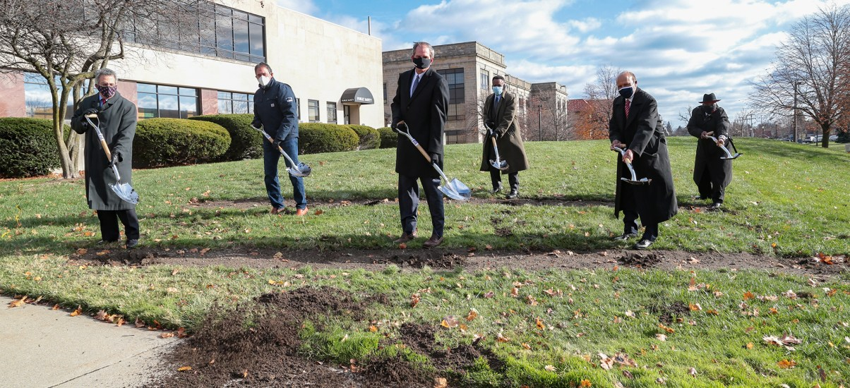 University breaks ground on McNichols Campus Renovation Project