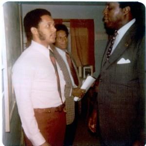 Antoine Garibaldi meets Vernon Jordan