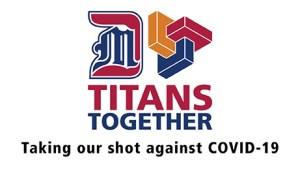 Titans Together taking our shot against COCID-19