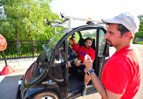 Detroit Mercy team places third at Intelligent Ground Vehicle Competiton