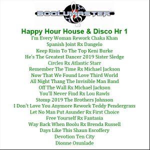 Happy Hour 1 playlist