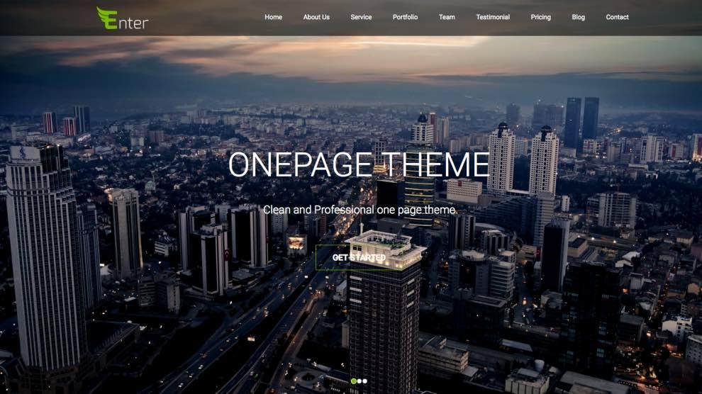 enter-onepage-theme