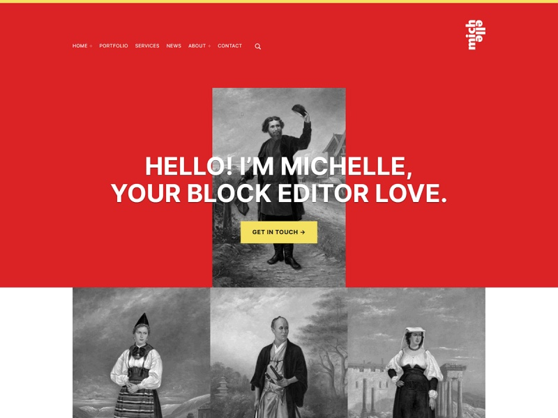michelle-wordpress-theme