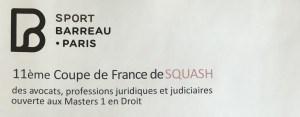 Squash au Palais: Encore Rodolphe!