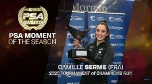 Et TROIS récompenses PSA pour Camille!!!!!