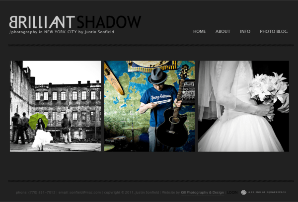 Photography Website Builder