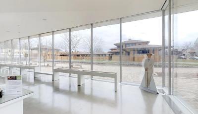 Greatbatch Pavilion 3D Model