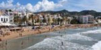 Manifestacio les botigues de sitges