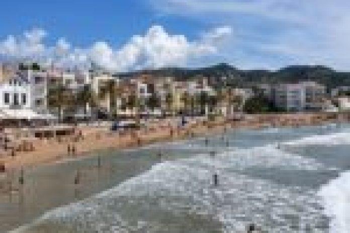 Afectaciones del temporal en Sitges