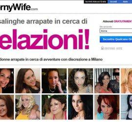 HornyWife sito di incontri per casalinghe