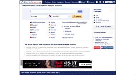 Dictionnaire Reverso