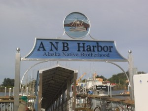 Lee's sign welcomes you to ANB Harbor.