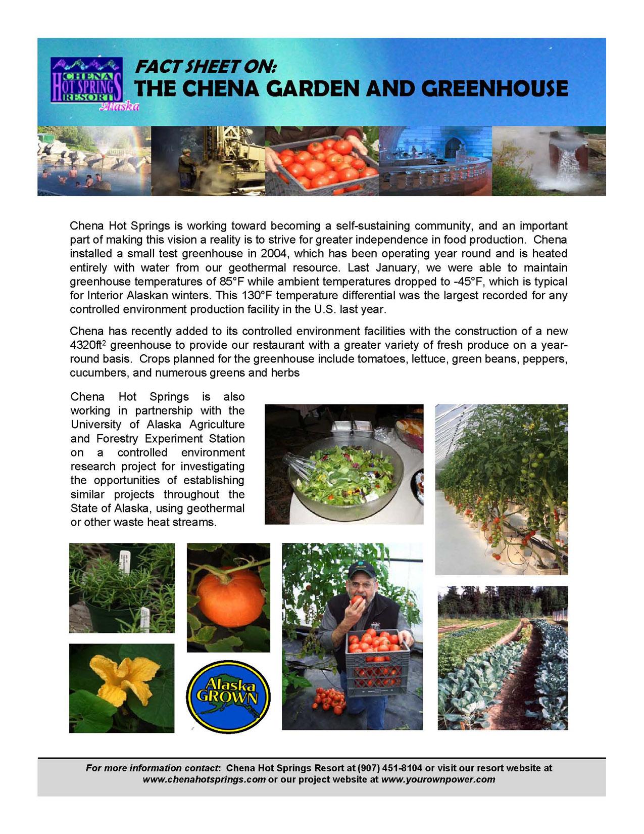 Greenhousefactsheet