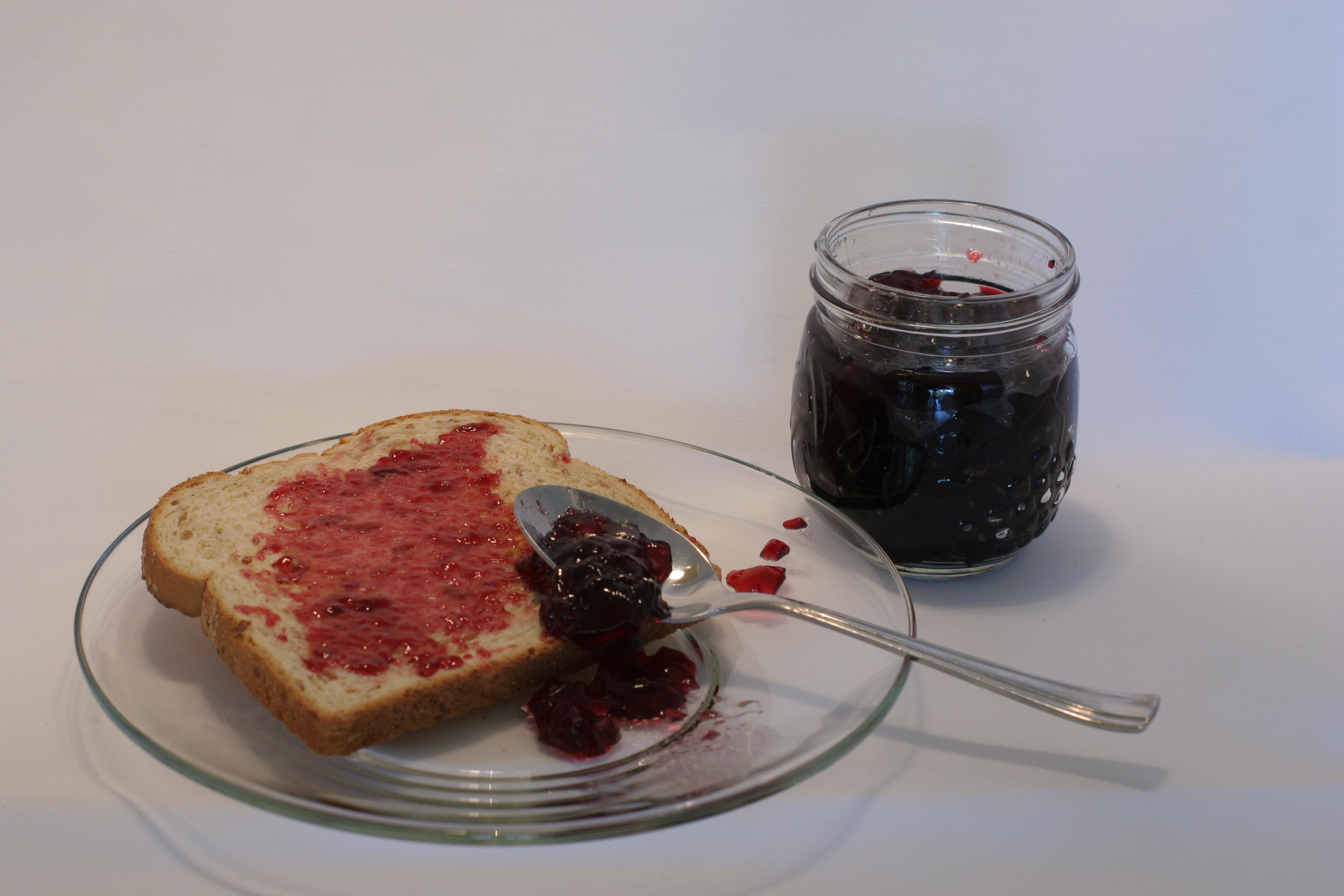 Alaska wild berry preserves are a great treat