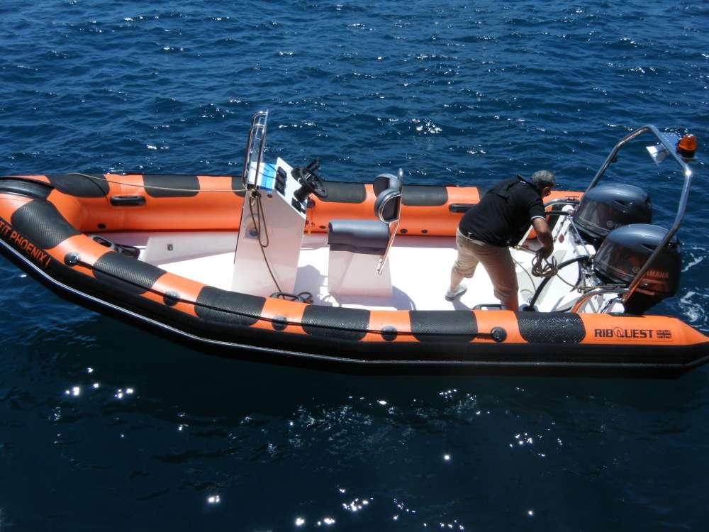 Ribquest Rigid Inflatable Boat Malta
