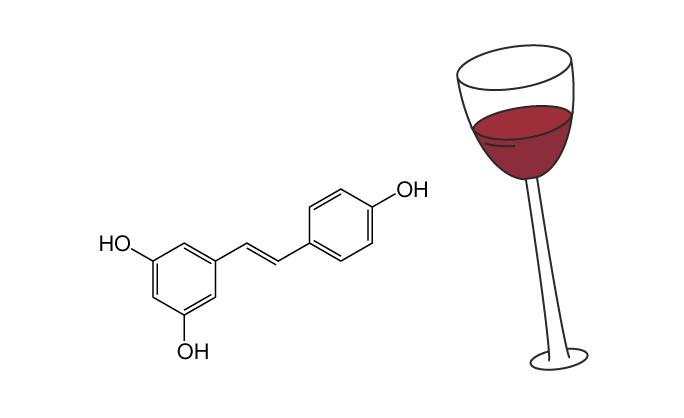 Resveratrol structure