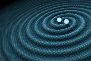 LIGO has discovered ripples in spacetime, generated by the inspiral and merger of two massive black holes - Credit Caltech