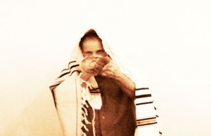 David Blowing The Shofar