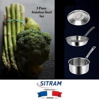 Sitram three piece Horeca R with Asparagus