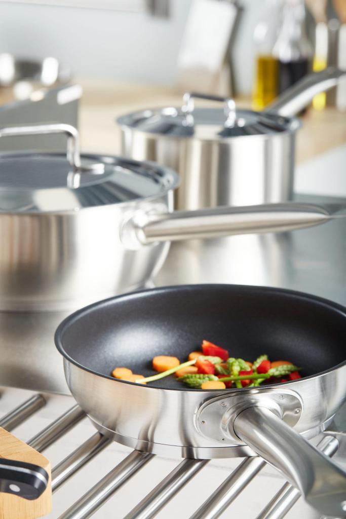 Stainless Steel saucepan_sautepan_fry pan