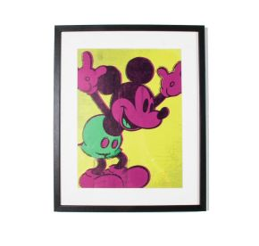 Neon Mickey Mouse