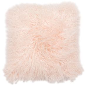 Darcy Pink Mongolian Cushion, , large