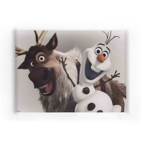 Frozen - Olaf and Sven Printed Canvas