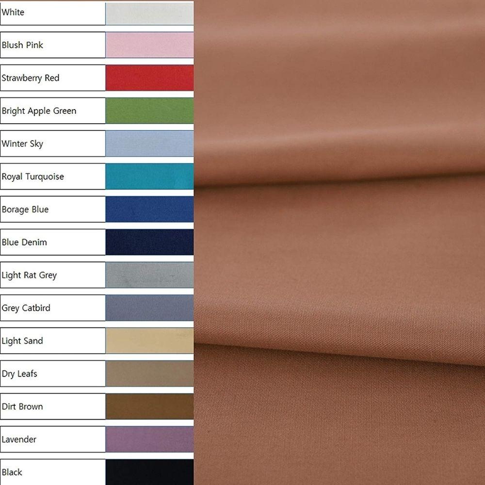 Cottonvill Cotton Solid Fabric