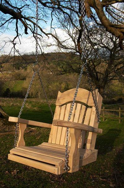 Garden Swing Seats For Trees Sitting Spiritually