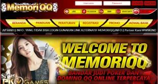 BandarQ Online Game Terbaik Situs MemoriQQ