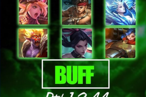 Hero Buff Patch 1.3.44