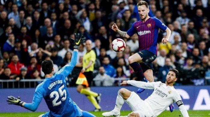 REAL MADRID DIKALAHKAN 0-1 OLEH BARCELONA