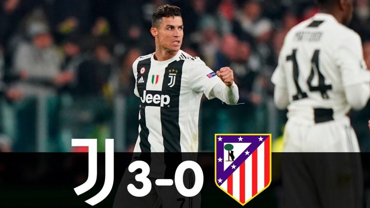 JUVENTUS MEMBANTAI 3-0 DARI ATLETICO MADRID
