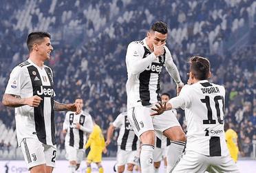 Ronaldo Gabung, Juventus Semakin PeDe