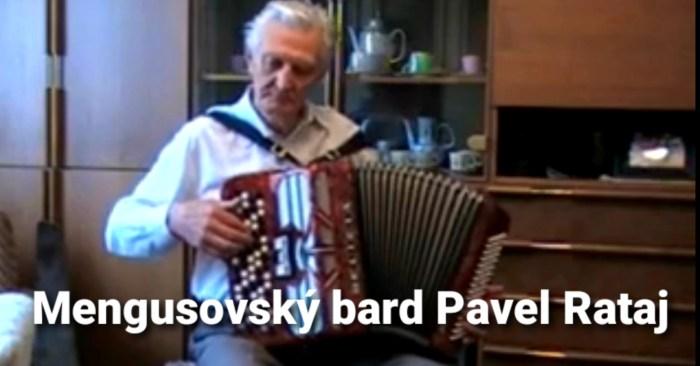 TV Slovo: 34. Mengusovský bard Pavel Rataj
